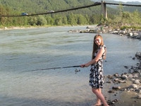 22 girls fishing