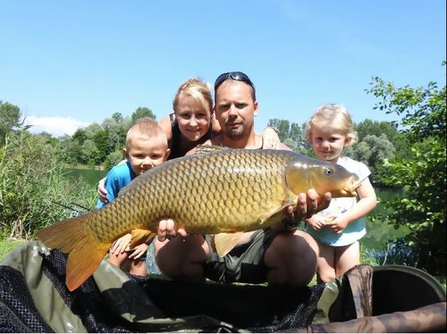 A&A carp team and family. Семейный карпфиш