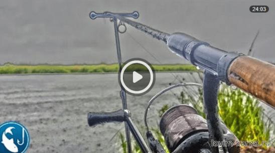 рыбалка в дождь или после